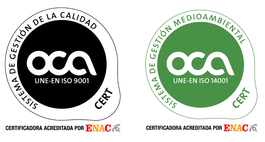 Mamut Sierra Nevada since 2009 is certified with ISO 9001 and later with ISO 14001 for quality and the environment