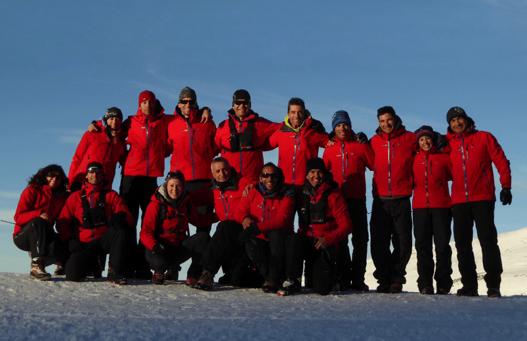 The Mamut Sierra Nevada team always offers you unique experiences, fun and safety