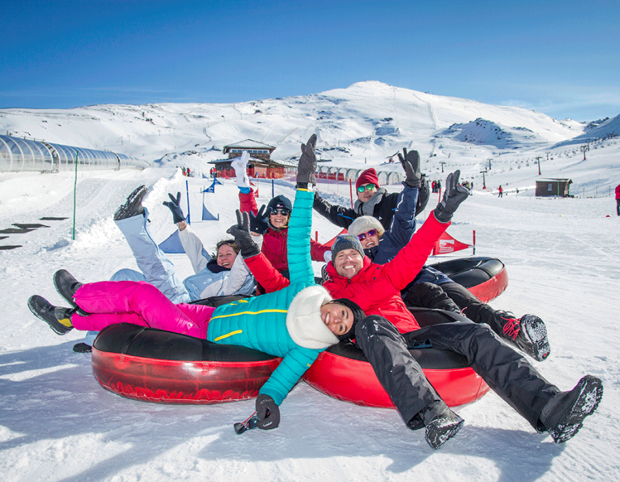 Activities for your company in the Snow with Mamut Sierra Nevada
