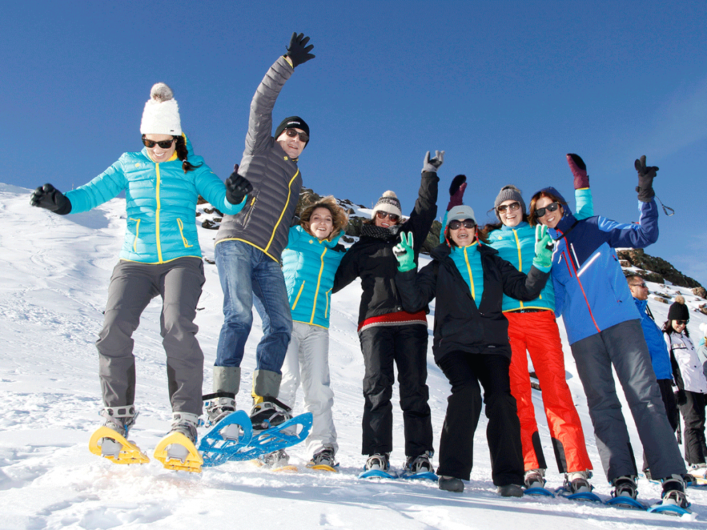 A lot of fun in the activities for companies with Mamut Sierra Nevada