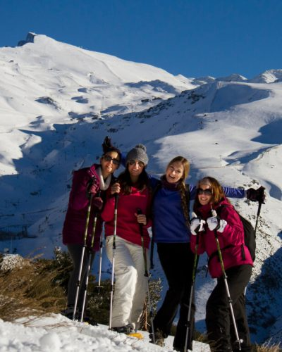 Mamut Sierra Nevada. Snowshoeing and adventure activities for companies in the snow